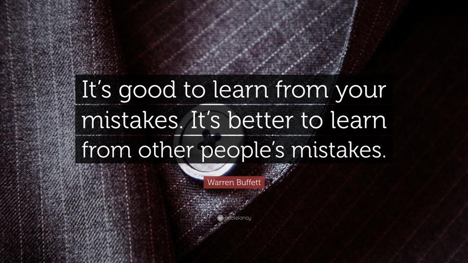 Mistake Lesson